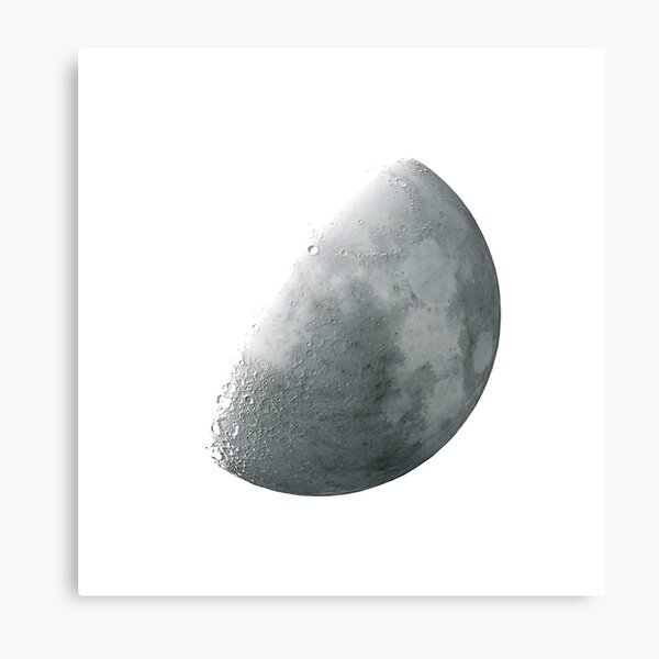 THE MOON INVERTED Metal Print