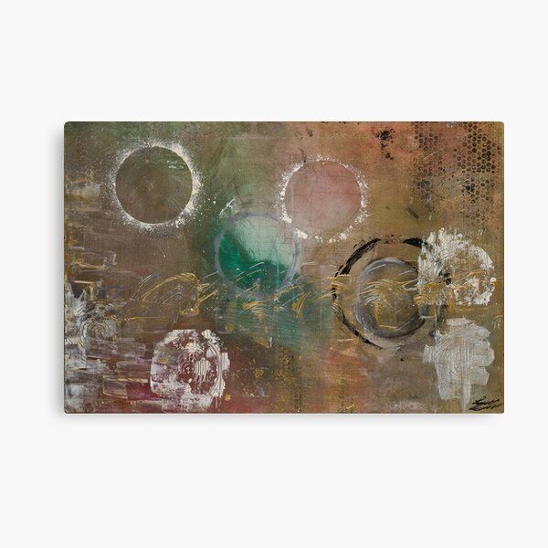 Golden Linen Canvas Print