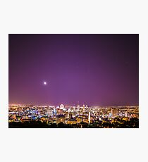 Montreal at night  Photographic Print
