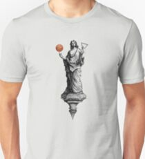 We Built this City on Basketball! Unisex T-Shirt