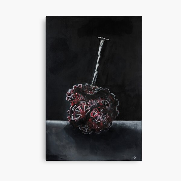 Mechanical Cherry Canvas Print