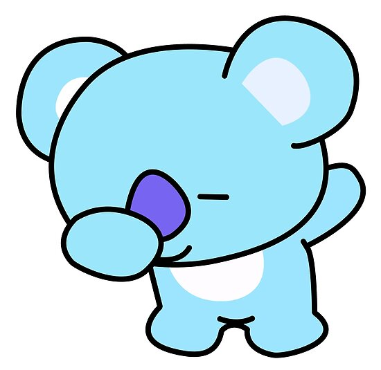 Quot Koya Dabbing Bts Bt21 Quot Posters By Kpopgroups Redbubble