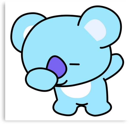 Quot Koya Dabbing Bts Bt21 Quot Canvas Prints By Kpopgroups