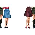 70's skirts by Elza Fouche