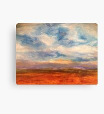 Fields of Northern France Canvas Print