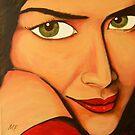 Girl Nina by Midori Furze