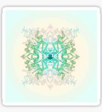 Parkour Mandala Sticker