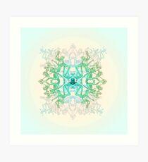 Parkour Mandala Art Print