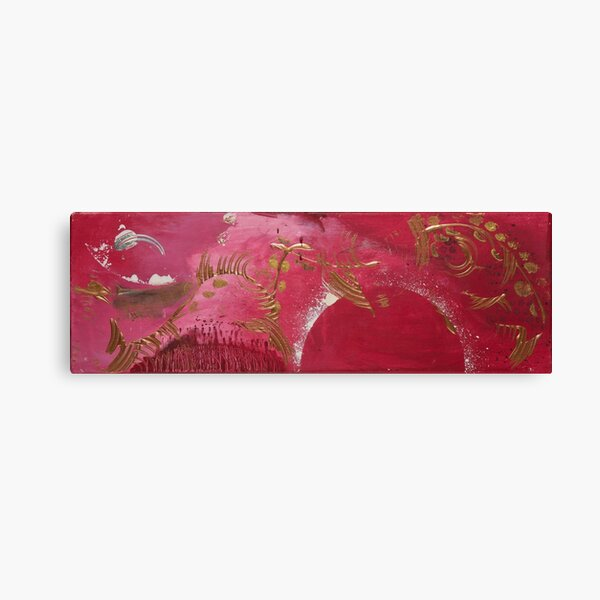Elements RED Canvas Print