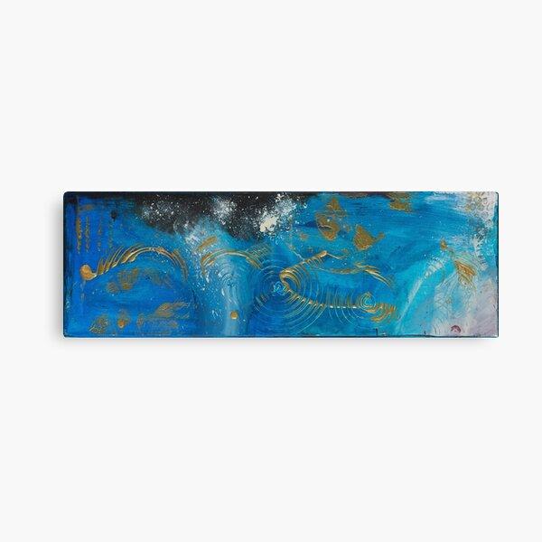 Elements BLUE Canvas Print