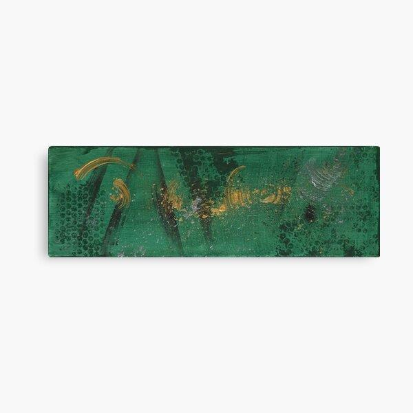 Elements GREEN Canvas Print