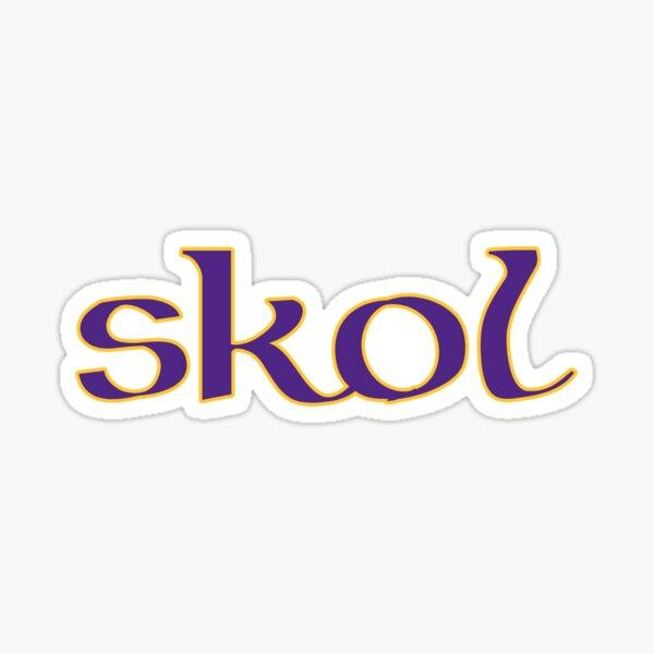 Celtic Inspired Skol Vikings Sticker