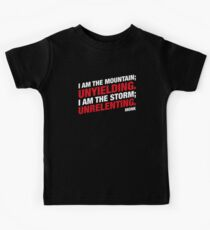 Monks Unrelenting and Unyielding Character DnD Kids Tee