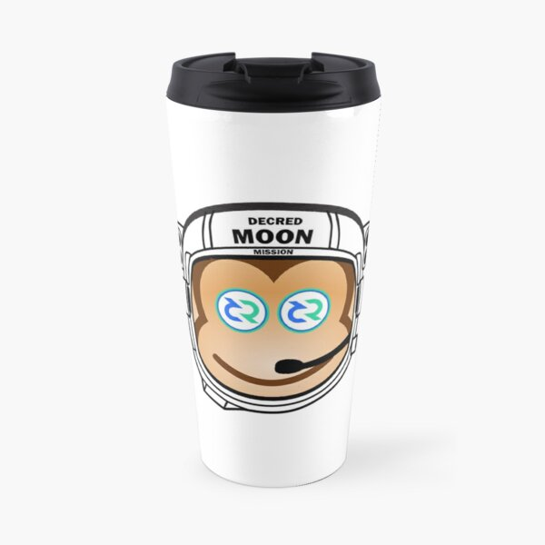 Decred to the MOON! Travel Mug