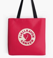 Fjallraven Kanken Logo Red Tote Bag