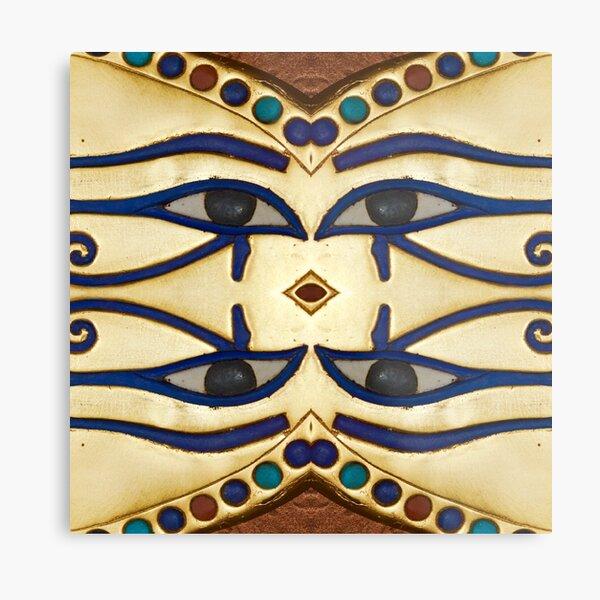 Pattern, motifs, ancient, Egyptian, ornaments Metal Print