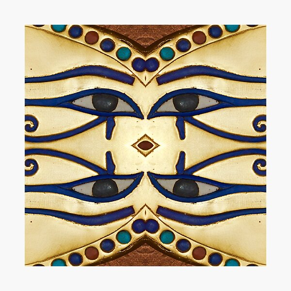 Pattern, motifs, ancient, Egyptian, ornaments Photographic Print