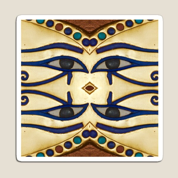 Pattern, motifs, ancient, Egyptian, ornaments Magnet