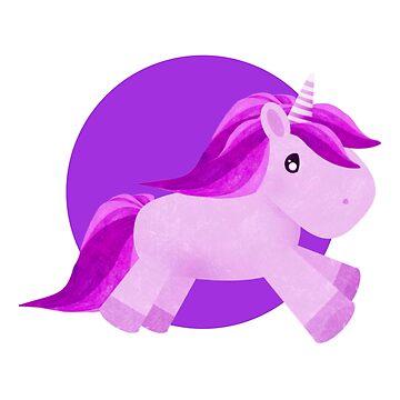 Cute Unicorn by GavinScott