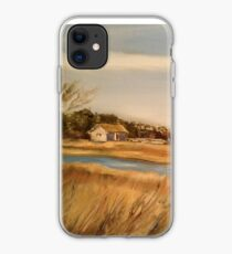 Captain Charlie's Boat House iPhone Case