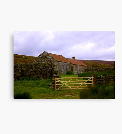 Old Barns Canvas Print