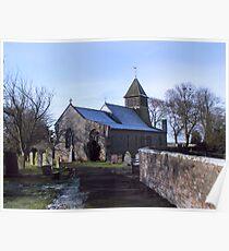 St Mary's Church-Raskelf,North Yorkshire  Poster