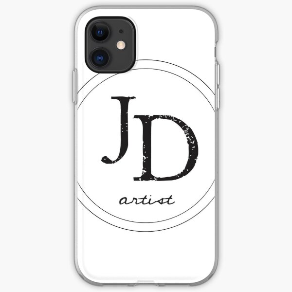 JD logo iPhone Soft Case
