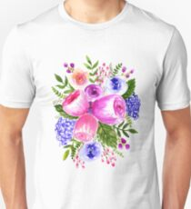 All the purple flowers Unisex T-Shirt