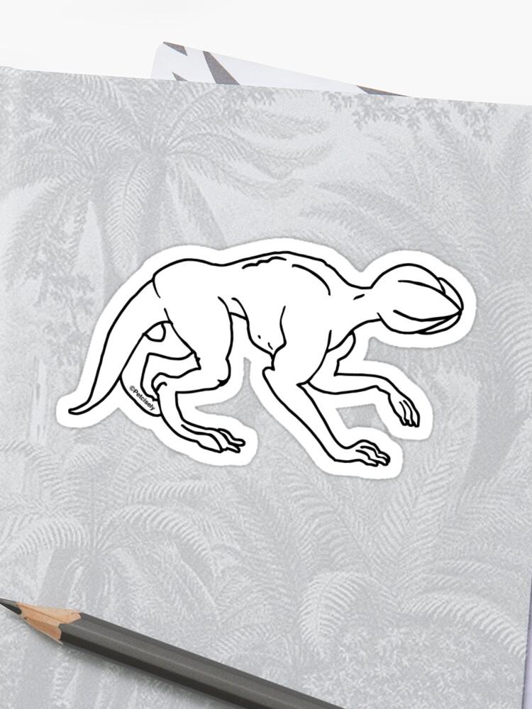 Demogorgon Dog Quot Livre De Coloriage Quot Style Sticker