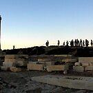 Portara, Naxos Island by Vivi Kalomiri