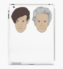 Life's a bitch and then you regenerate (white writing) 11/12 iPad Case/Skin