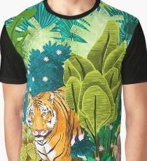 Jungle Tiger Graphic T-Shirt