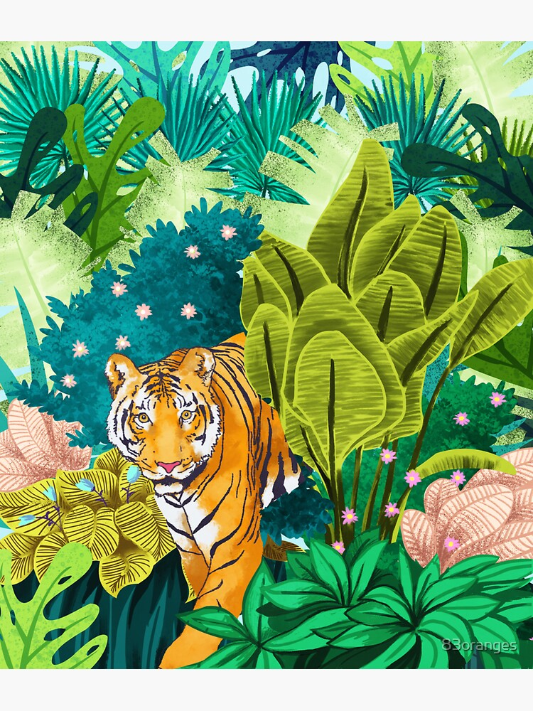 Jungle Tiger de 83oranges