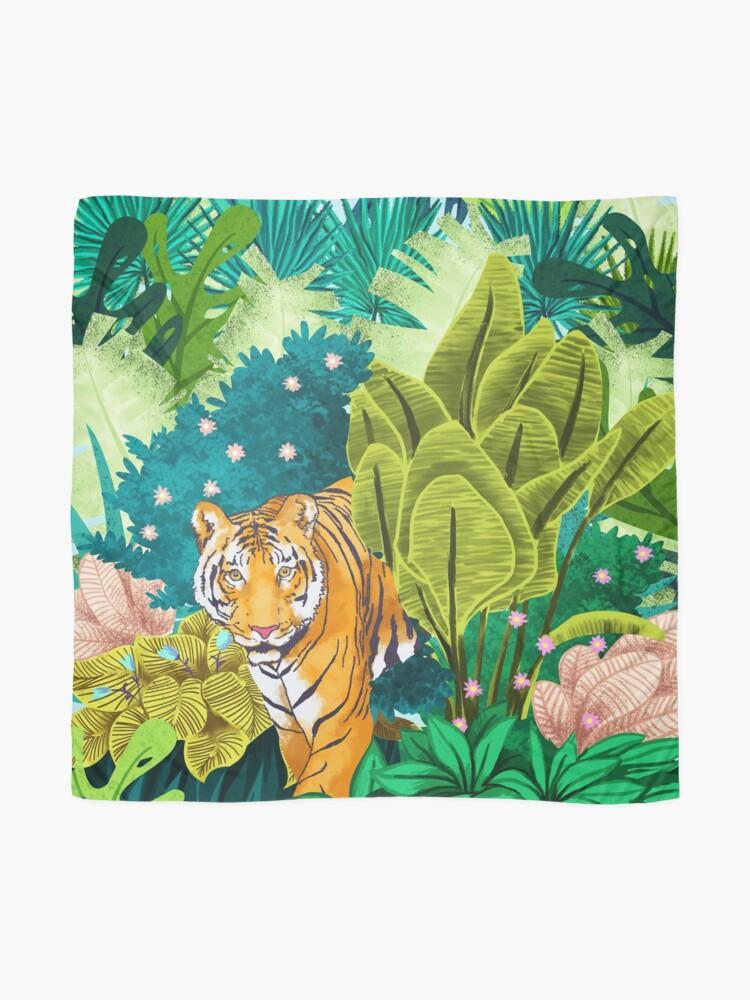 Vista alternativa de Pañuelo Jungle Tiger
