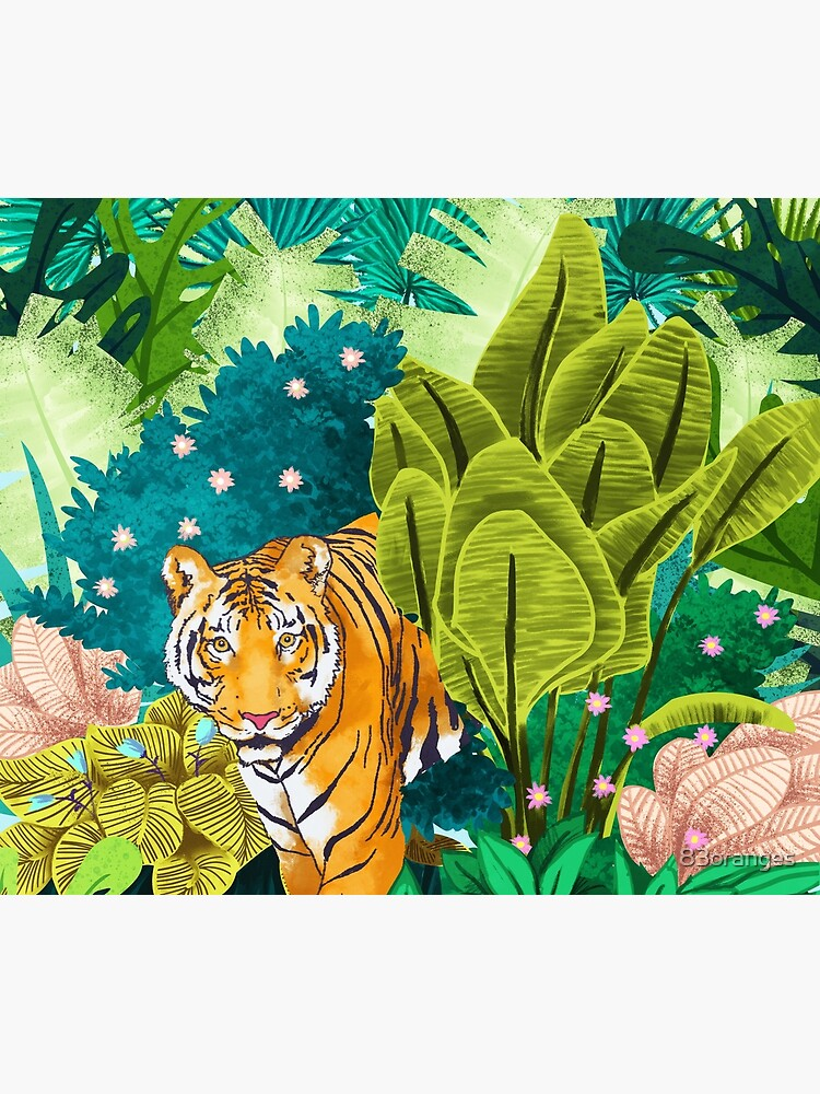 Jungle Tiger by 83oranges