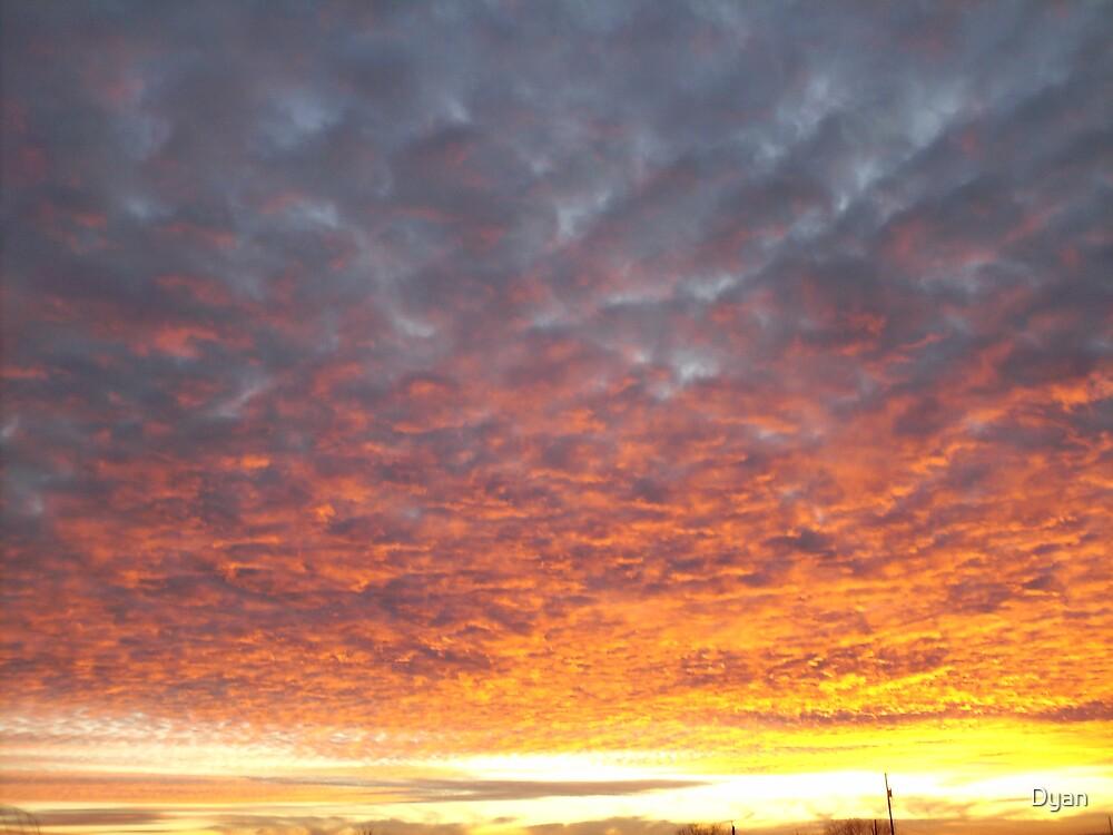 MORE WONDERFUL SUNSETS by Dyan