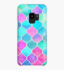 Bright Moroccan Morning - pretty pastel color pattern Case/Skin for Samsung Galaxy