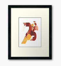 Ken Street Fighter Framed Print