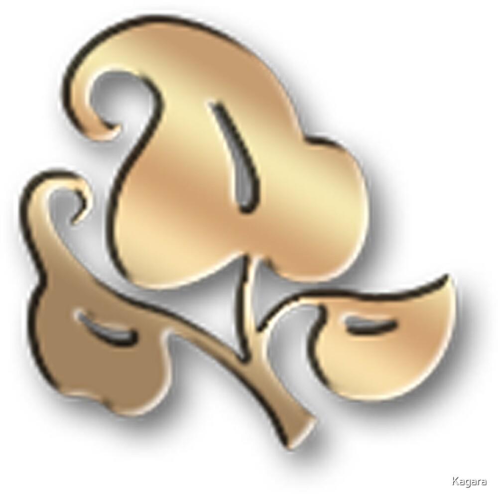 Golden one VIII by Kagara