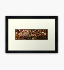 City Lights - Hosier Lane, Melbourne Framed Print