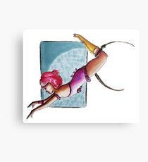 Trapeze in the Stars - The Greatest Showman Canvas Print
