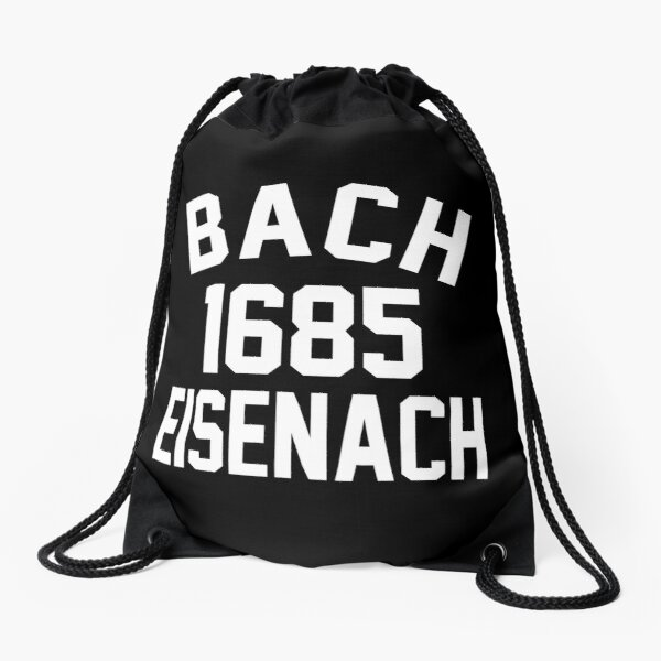 Bach 1685 Eisenach Drawstring Bag