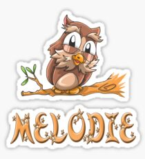 Melodie Owl Sticker