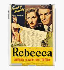 REBECCA name film poster 1940s iPad Case/Skin