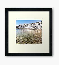 The Little White Town  Framed Print