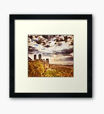 The Castle on the Hill  Framed Print