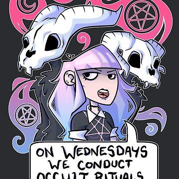 On Wednesdays by JekyllDraws