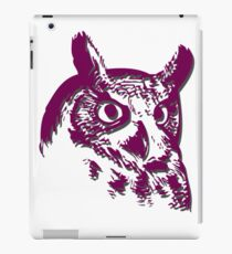 Buho Shirt beautiful Owl shirt and variety of articles Bird Vintage Happy Funny Owl.  iPad Case/Skin