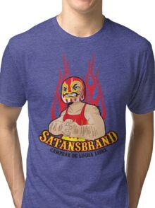 Satansbrand - Champion of Wrestling Tri-blend T-Shirt