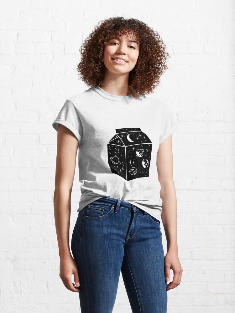 Alternative Ansicht von Milchstraße Classic T-Shirt